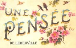 54 - MEURTHE ET MOSELLE / Fantaisie Moderne - CPM - Format 9 X 14 Cm - 543512 - Lebeuville - Francia