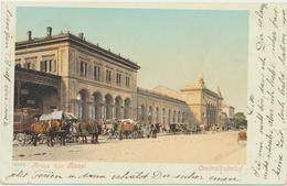 Basel - Centralbahnhof Mit Kutschen 1900 - BS Bâle-Ville