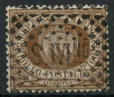 Saint Marin (1877) N 6 (o) - Oblitérés