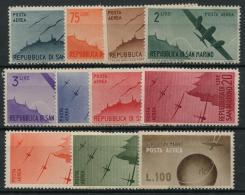 Saint Marin (1946) PA N 42 A 52 (Luxe) - Saint-Marin