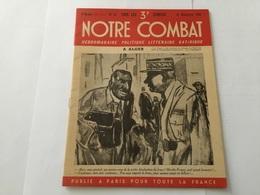 Fascicule Notre Combat Propagande état Français 1943 - 1939-45