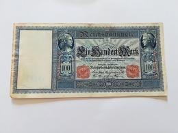 GERMANIA 100 MARK 1908 - [ 2] 1871-1918 : Impero Tedesco