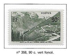 FRANCE N°358 -  NEUF * * LUXE - Unused Stamps