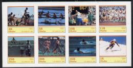 5213 (sport) Dhufar 1984 Los Angeles Olympics Complete Imperf Set Of 8 Values Unmounted Mint - Summer 1984: Los Angeles