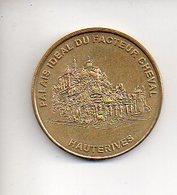 REF 1 : Jeton Touristique Monnaie De Paris 2002 Palais Idéal Du Facteur Cheval Hauterives - Monnaie De Paris