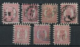 Finlande (1866) N 9 (o) Divers Cachets - 1856-1917 Russische Verwaltung