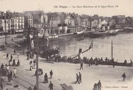 La Gare Maritime Et Le Quai Henri IV - Dieppe