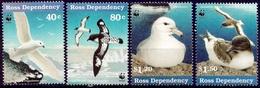 ROSS 1997 (Yvert 50-51-53-54) - WWF Oiseaux Marins (MNH) Sans Trace De Charnière - 028 - Neufs