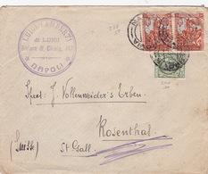 Brief In Die Schweiz / Filiberto (br3817) - 1900-44 Vittorio Emanuele III