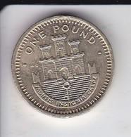 MONEDA DE GIBRALTAR DE 1 POUND DEL AÑO 1988  (COIN) - Gibraltar