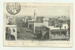 PORT SAID - VILLAGE ARABE 1915   VIAGGIATA FP - Port Said