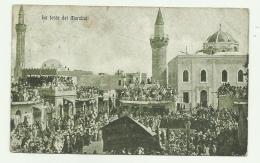 TRIPOLI - LA FESTA DEI MARABUTI 1927 VIAGGIATA FP - Libia