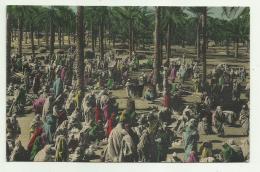 LIBIA - COSTUMI ARABI - MERCATO 1940   VIAGGIATA FP - Libia