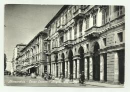 ALESSANDRIA - CORSO CRIMEA - ANGOLO VIA ROMA - VIAGGIATA FG - Alessandria