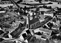 CPSM Dentelée - EPUISAY (41) - Vue Aérienne Du Bourg En 1958 - Other Municipalities