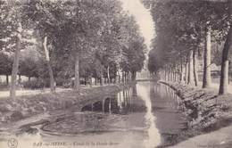 BAR SUR SEINE - Canal De La Haute-Seine - Bar-sur-Seine