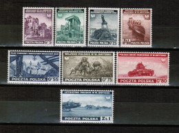 PL MI 360-367  EXILE GOVERNMENT IN LONDON 1941 UNUSED - 1939-44: World War Two