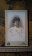 Foto Cartonata - Fotografia G. Borghese - Roma - Ritratto Donna - Fotografia