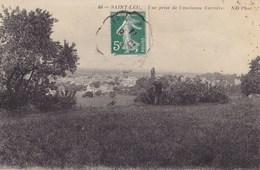 Vue Prise De L'ancienne Carrière - Saint Leu La Foret