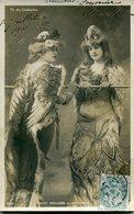 Theatre Du Chatelet Mlles Naluob Et Michaud - Artistes