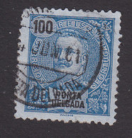 Ponta Delgada, Scott #27, Used, King Carlos, Issued 1897 - Ponta Delgada