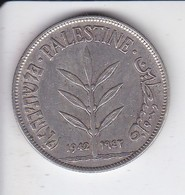 MONEDA DE PLATA DE PALESTINE DE 100 MILS DEL AÑO 1942  (COIN) SILVER-ARGENT (RARA) - Colonias