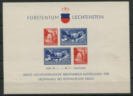 Liechtenstein (1936) Bloc Feuillet N 2 (Luxe) - Blocs & Feuillets