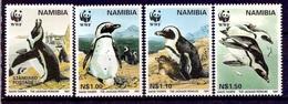 NAMIBIE 1997 (Yvert 790-93) - WWF Manchot Du Cap (MNH) Sans Trace De Charnière - 028 - Namibie (1990- ...)
