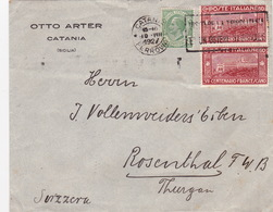 Brief In Die Schweiz / Francesco (br3819) - 1900-44 Vittorio Emanuele III