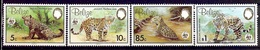 BELIZE 1983 (Yvert 650-53) - WWF Jaguar (MNH) Sans Trace De Charnière - 029 - Belize (1973-...)