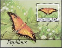 Togo 1999 Sc. 1861H Farfalle Butterflies Mariposas Papillons  Charaxes Pollux Sheet CTO Perf. - Togo (1960-...)
