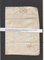 1738 Généralité Alençon,vente,Notaire Vimoutiers,Familles Huard De Saint Germain De Montgommery 14 Vend Terre à ? ... - Manuscrits