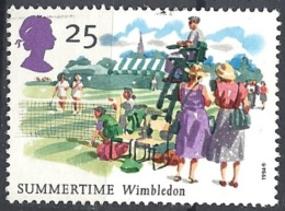 Gran Bretagna - 1994 Summertime Events, 25p Wimbledon # S.G. 1835 - Michel 1530 - Scott 1573 USED - Used Stamps