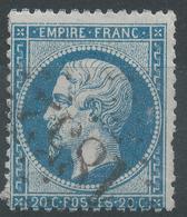 Lot N°42276   N°22/fragment, Oblit GC 1852 Ivry-sur-Seine, Seine (60), Ind 4 - 1862 Napoleon III