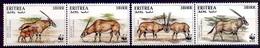 ERYTHREE 1996 (Yvert 282-85) - WWF L'oryx Beisa (MNH) Sans Trace De Charnière - 029 - Erythrée