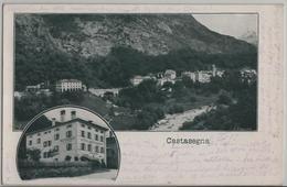 Castasegna - Hotel Schumacher, Restaurant De La Poste - Photo: Engadin Press - GR Grisons