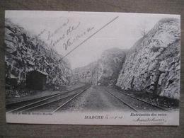 Cpa Marche En Famenne - Extrémités Des Voies Chemin De Fer - D.V.D. 8660 - 1903 - Marche-en-Famenne