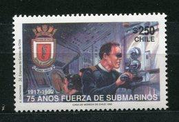 Chile Nr.1519       **  Mint       (344) U-Boot / Submarine - Chile