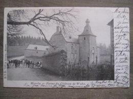 Cpa Marche En Famenne - Ferme Du Château De Waha - D.V.D. 7661 H. Severin Marche - 1902 - Marche-en-Famenne