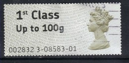 GB 2008 - 15 QE2 1st Post & Go To 100gms SG FS1 ( K441 ) - Great Britain