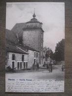 Cpa Marche En Famenne - Vieille Ferme - Edit. Séverin - 1903 - Animation - Marche-en-Famenne