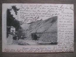 Cpa Marche En Famenne - Entrée Des Fonds De Vaux - L. Fortemps Editeur - 1902 - Marche-en-Famenne