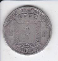 MONEDA DE PLATA DE BELGICA DE 2 FRANCS DEL AÑO 1868  (COIN) SILVER-ARGENT - 08. 2 Francos