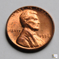 US - 1 Cent - 1956 - 1909-1958: Lincoln, Wheat Ears Reverse