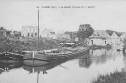 Jeumont.  La Sambre Et Ruines De La Fonderie. - Jeumont