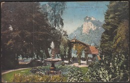 Slovenia Bled Veldes 1917 / Hotel Mallner Park Und Schloss / KuK Res. Spital EgerUng. In Veldesw - Slovenia