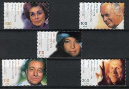 2000 - GERMANIA - Catg.. Mi. 2143/47 - (I-SRA3207.34) - [7] Repubblica Federale