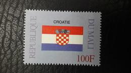 MALI 1999 ¤ FLAGS FLAG DRAPEAUX DRAPEAU ¤ CROATIA CROATIE CROITIE CROITIA ¤ RARE -  MNH ** - Stamps
