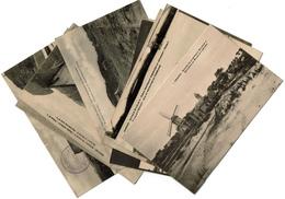 Knocke Sur Mer - 10 Cartes - Grande Batterie Wilhelm II. - 2 Scans - Knokke