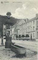 AYWAILLE : Hotel Du Luxembourg - TRES RARE VARIANTE - Cachet De La Poste 1910 - Aywaille